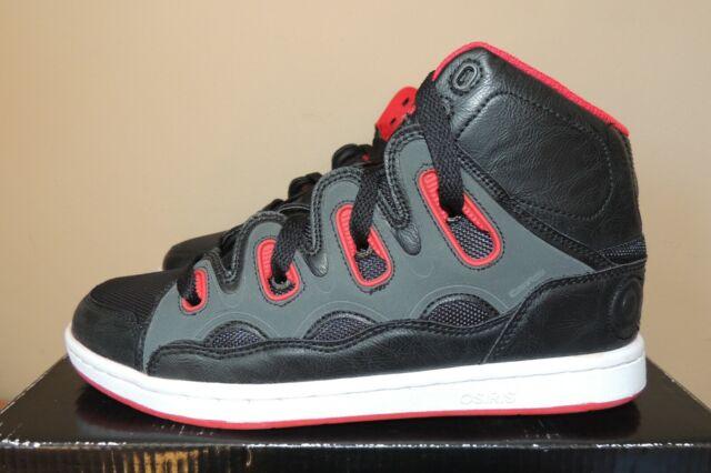 Osiris Mens D3h Skate Shoe Black/red 14