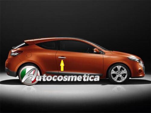 Copri Maniglie acciaio cromo cromate Renault Megane III 3p coupe cabriolet