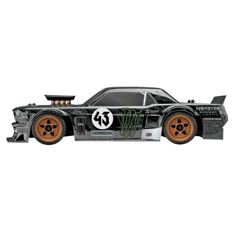 Hpi 115990 Rs4 Sport3 Ken Blocco 1965 Ford Mustang Hoonicorn Rtr 1 10 Scala