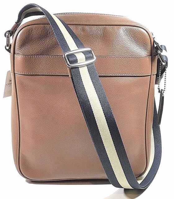 5017b88525 Coach Mens Leather Shoulder Crossbody Flight Bag F54782 CWH for sale ...