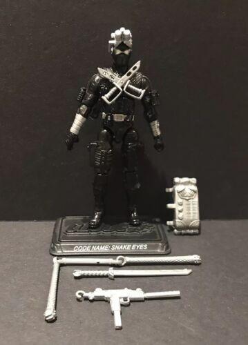 Figure Complete Joe 25th Commando Snake Eyes G.I V34