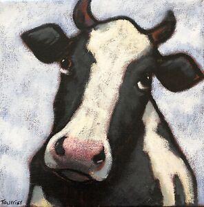 Tableau-Portrait-Vache-Tourrier