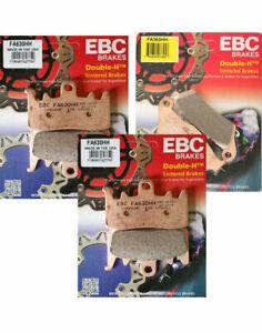 2002 to 2012 KTM Adventure 950 // 990 FA209//2 EBC Organic FRONT Brake Pads