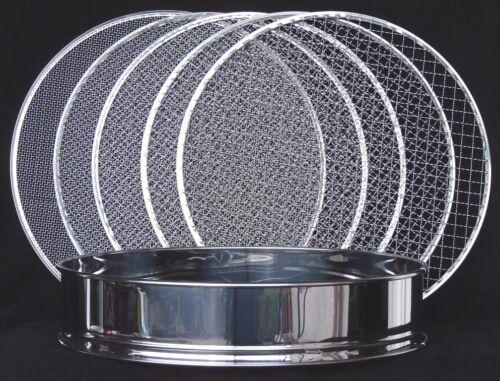 5 Siebe Top-Qualität 4 Erdsieb 37 cm 6-teilig Edelstahl Bonsai Werkzeug