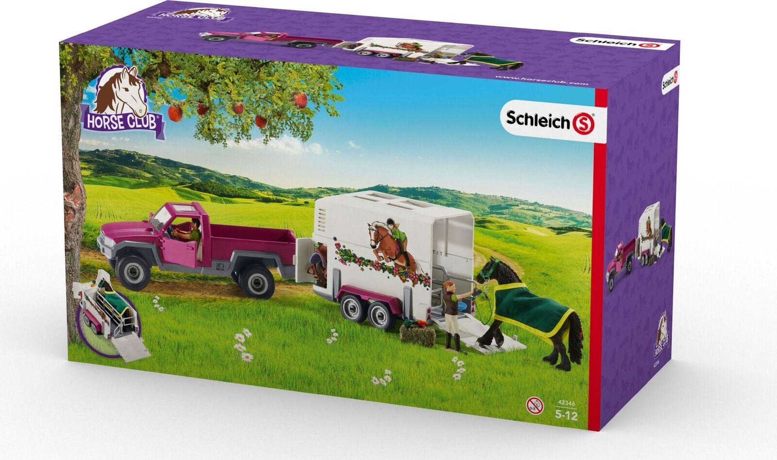 Schleich raccogliere con scatola di cavallo