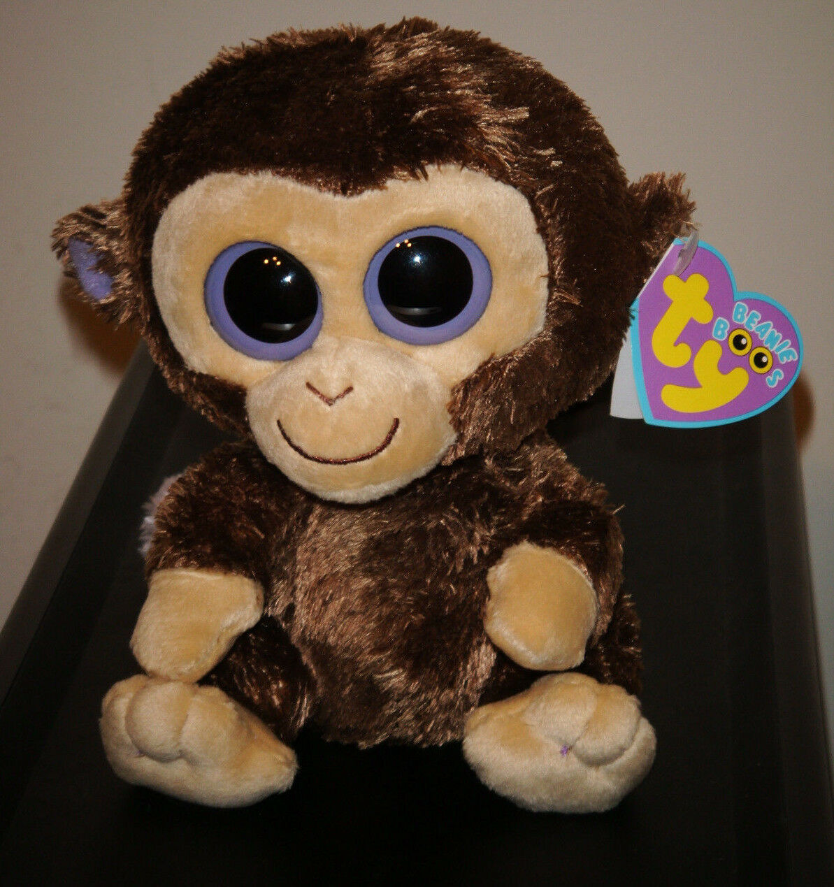 Ty Beanie Boos    COCONUT the Monkey (6 Inch)(1st Gen 2009 Tags) MWMT a9e4ae