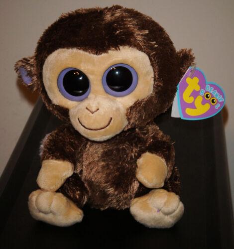 1st Gen 2009 Tags Ty Beanie Boos ~ COCONUT the Monkey 6 Inch MWMT