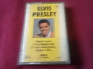 CASSETTE-AUDIO-ELVIS-PRESLEY