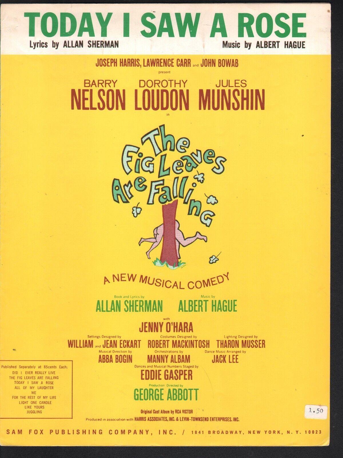Hoy he visto una rosadodo 1968 Dorojohy Loudon las las las hojas de parra están cayendo Partituras  mejor opcion