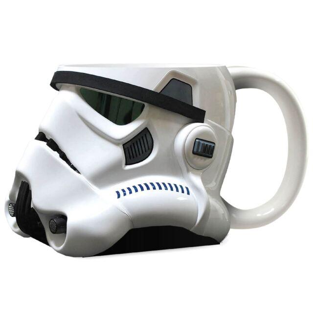 Official Star Wars Stormtrooper Helmet Design 3D Ceramic Mug - Gift Boxed White