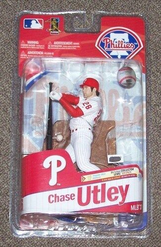 McFarlane MLB Series 27 Chase Utley Phillies figure Full case of 8 no Variant
