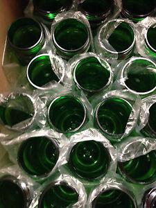 100 Bulk Pack 24 Oz (environ 680.38 G) Vert Bouteilles D'eau Usa Made-afficher Le Titre D'origine