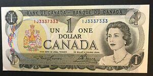 BANK-OF-CANADA-1973-1-BINARY-2-DIGITS-RADAR-LAWSON-BOUEY-SN-IJ3337333-UNC