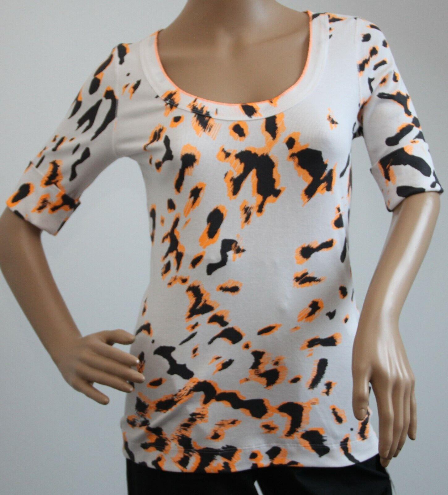 Neu Marc Cain Sports Shirt mit Animal Print Größe N3 38 mit Etikett