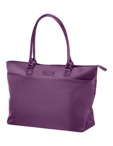 NEW-Lipault-Original-Plume-Shopping-Tote-Purple-68458-1717