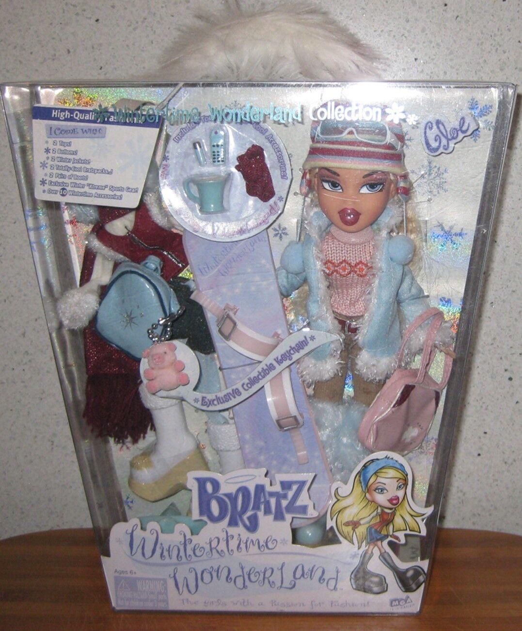 Bratz Invierno Wonderland Cloe fechado 2003  Nuevo en Caja