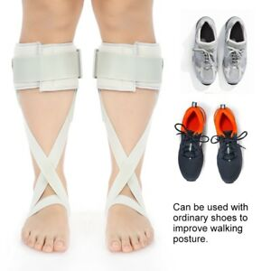 Adjustable Foot Drop Orthosis Ankle Corrector Brace Support Correction Splint TT