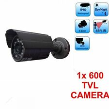New High Quality Metal IR Bullet Camera Indor Outdoor CCTV Security Night Vision