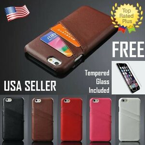 Iphone 6 Plus Leather Case Cover Pouch