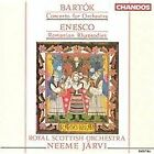 Bartók: Concerto for orchestra: Enesco: Romanian Rhapsodies (1991)