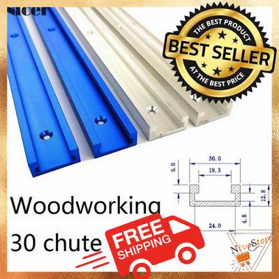 T-track Aluminium Alloy Slot Woodworking Tools Saw Miter Slider Fixture Jig Wood