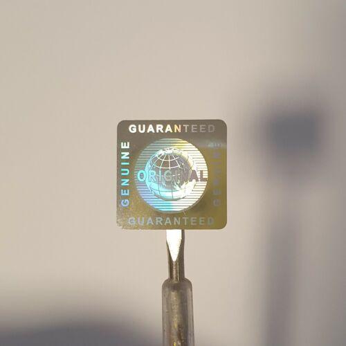 3D Hologramm Siegel Aufkleber Garantiesiegel Original Antifake 20x20 mm Sticker