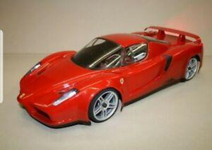 Carrozzeria-body-RC-scala-1-10-Ferrari-Enzo-decals-adesivi