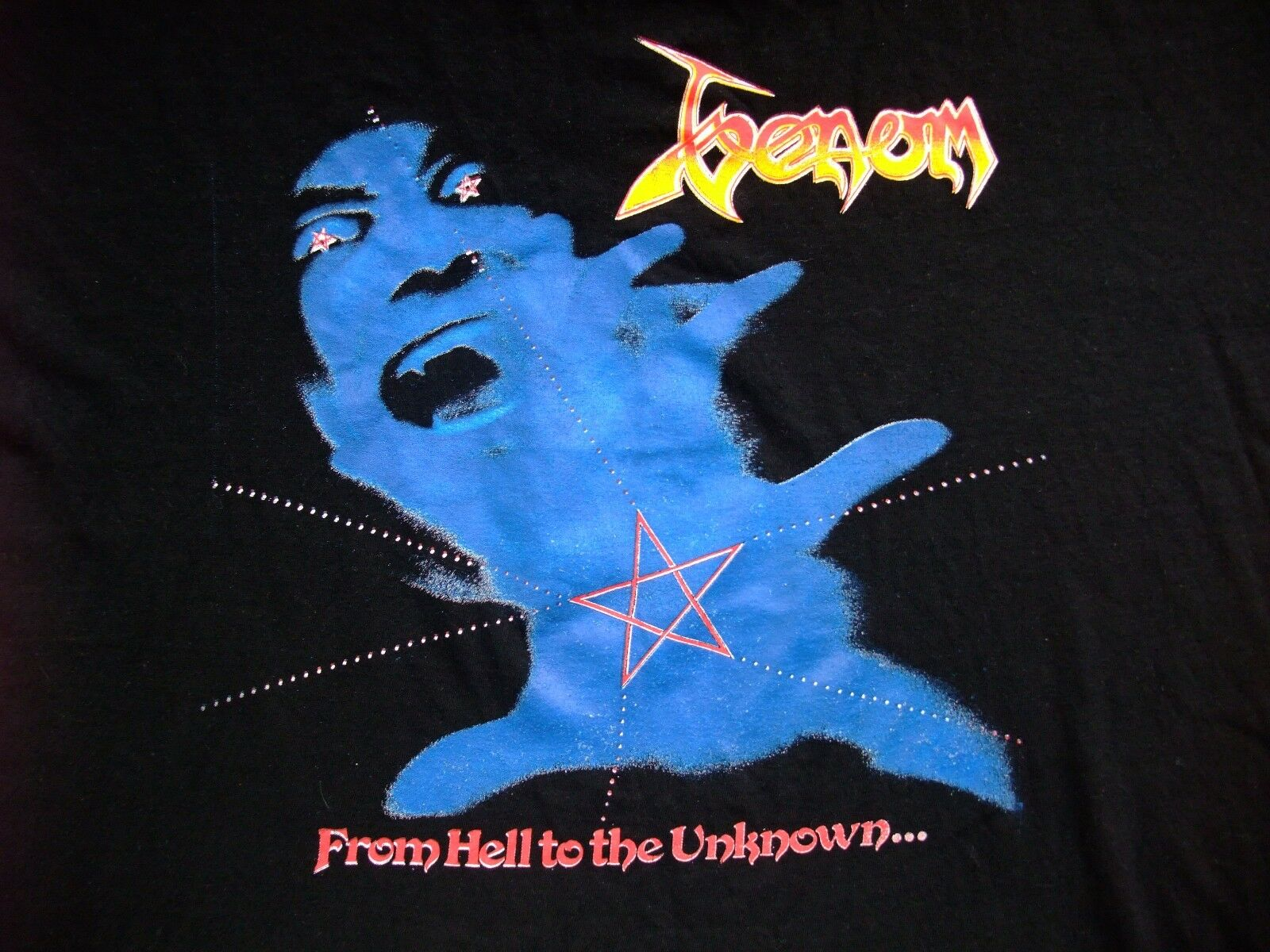 Venom From Hell to the Unknown RaRe vintage t-shirt Celtic Frost