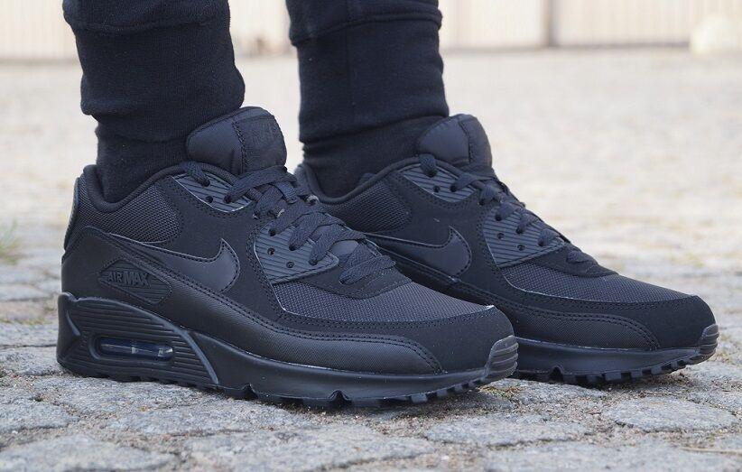 Nuevo essential zapatos nike air max 90 essential Nuevo señores premium cortos zapatillas de deporte 537384090 94a645