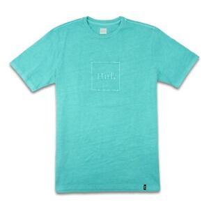 HUF-Mens-Domestic-Box-Logo-T-Shirt-Tropical-Green-M-New