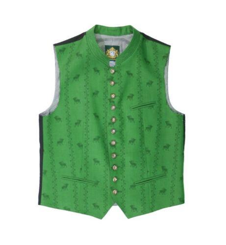 Trachtenweste Hammerschmid Bert grün