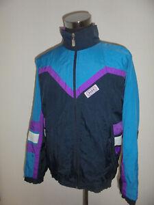 vintage-JAKO-Sport-Nylon-Jacke-glanz-shiny-Trainingsjacke-90s-oldschool-XL