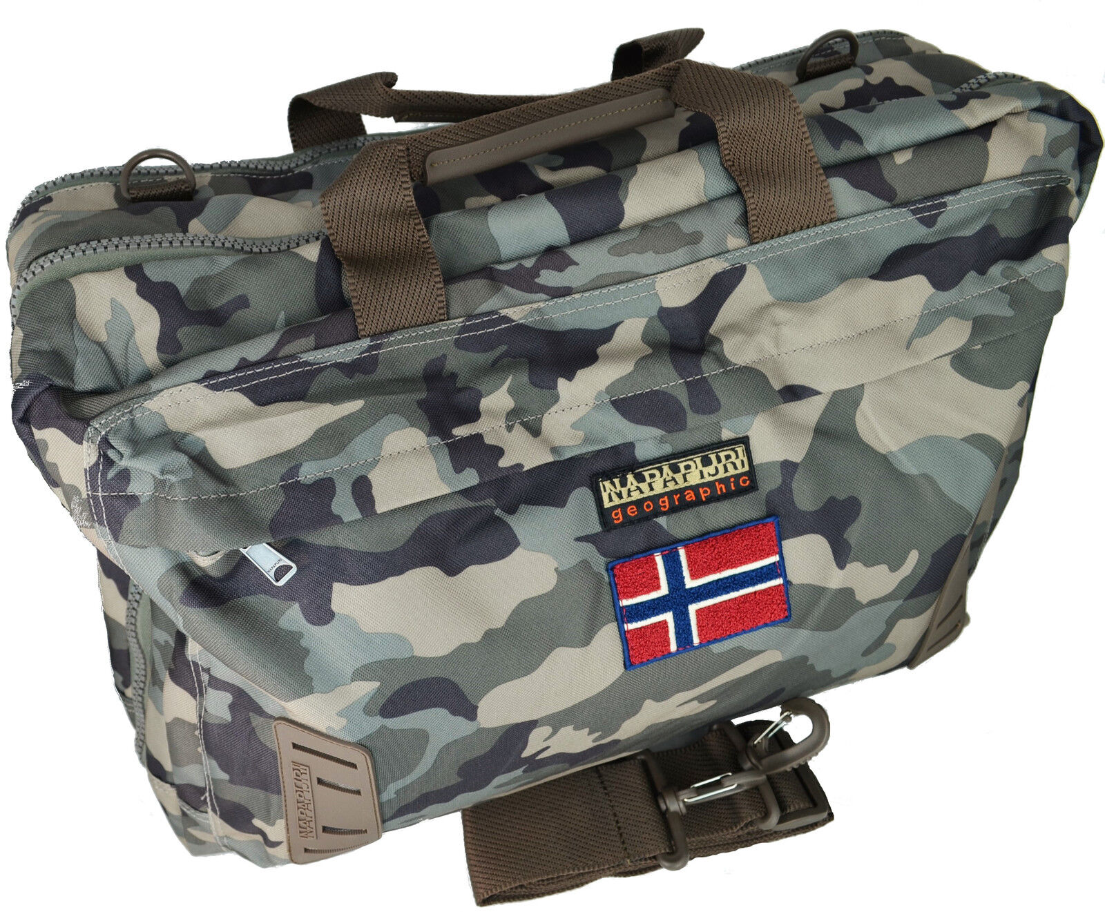 Tasche Rucksack Umhängetasche Mann Frau Mehrfarbig Napapijri Bag Nordland