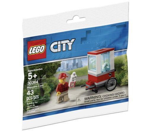 LEGO CITY 30364 Popcorn Cart Polybag BNIP NEW Final Batch