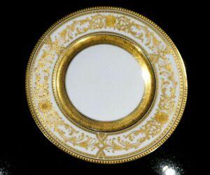 Stunning-Bauscher-Weiden-John-Wanamaker-Heavy-Gilt-Dinner-plate