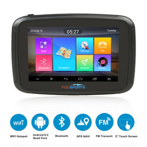 5-034-Touch-Screen-BT-GPS-Navigator-Motor-Vehicle-Car-Sat-Nav-Free-Maps-Android-6-0