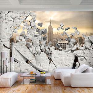 Details zu VLIES FOTOTAPETE Steinwand Steinoptik New York TAPETE Wohnzimmer  WANDBILDER XXL