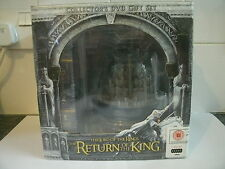 LORD OF THE RINGS RETURN OF KING COLLECTOR'S DVD GIFT SET MINAS TIRITH COLLECTAB