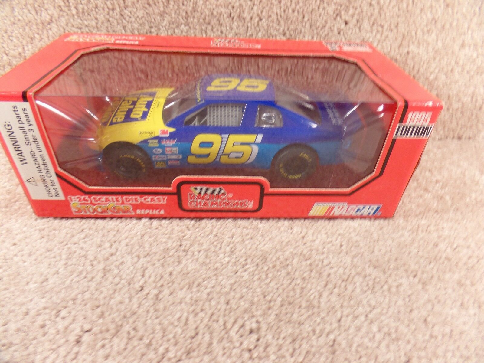 New 1995 Racing Champions 1 24 Diecast NASCAR Auto Value Chevy Monte Carlo