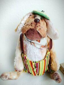 Teddy-Dog-Djery-OOAK-Artist-Teddy-by-Voitenko-Svitlana