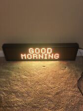 Signtronix Led Indoor Sign 16x80 Led 40 2 Sx With Guru Media Software