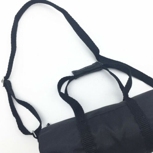 """1//6 Scale Black Sport Style Bag Model Fits 12/"""" Male Action Figure Toys Body"""