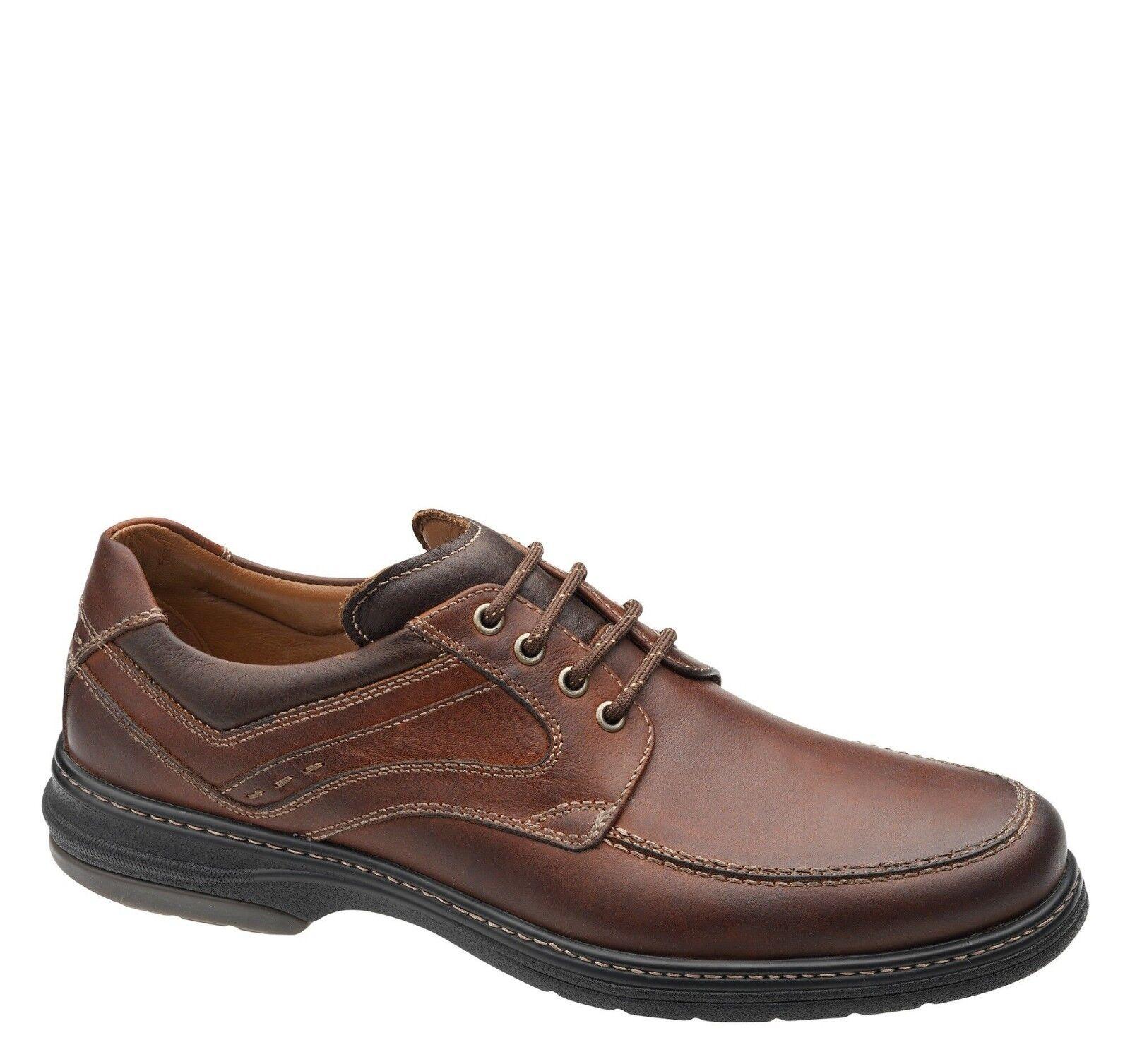 Nouveau Johnston Murphy Colvard XC4 acajou Vénitien Cuir Moc Chaussures 25-1074