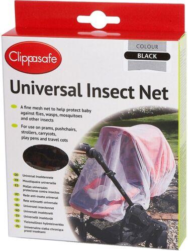 Clippasafe universel Insecte Net Poussette//Poussette//landau//Buggy Accessoire BN