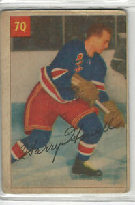 1954-55-PARKHURST-70-HARRY-HOWELL-NICE-CARD