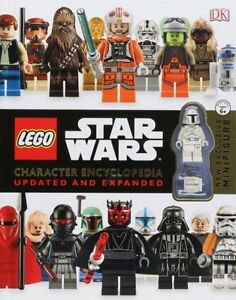LEGO-STAR-WARS-CHARACTER-ENCYCLOPEDIA-UPDATED-AND-EXPANDED-NO-MINIFIGURE-NEW