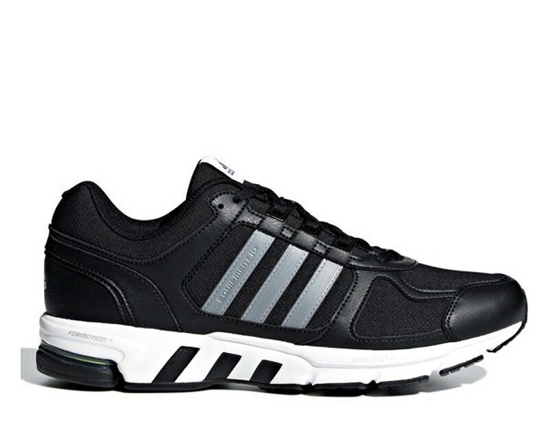 4d214b16d Adidas Equipment 10 M Black Silver White Men Running shoes shoes shoes  Sneakers AC8595 e005ab