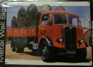 AEC-Mammoth-Major-034-Post-Office-034-Vintage-Lorry-Large-Metal-Wall-Sign-New