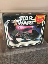 Vintage 1983 Star Wars Darth Vader Tie Fighter Never Opened! Kenner AFA 75 Look!