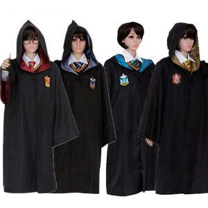 Harry Potter Cosplay Adult Gryffindor Slytherin Hufflepuff Ravenclaw